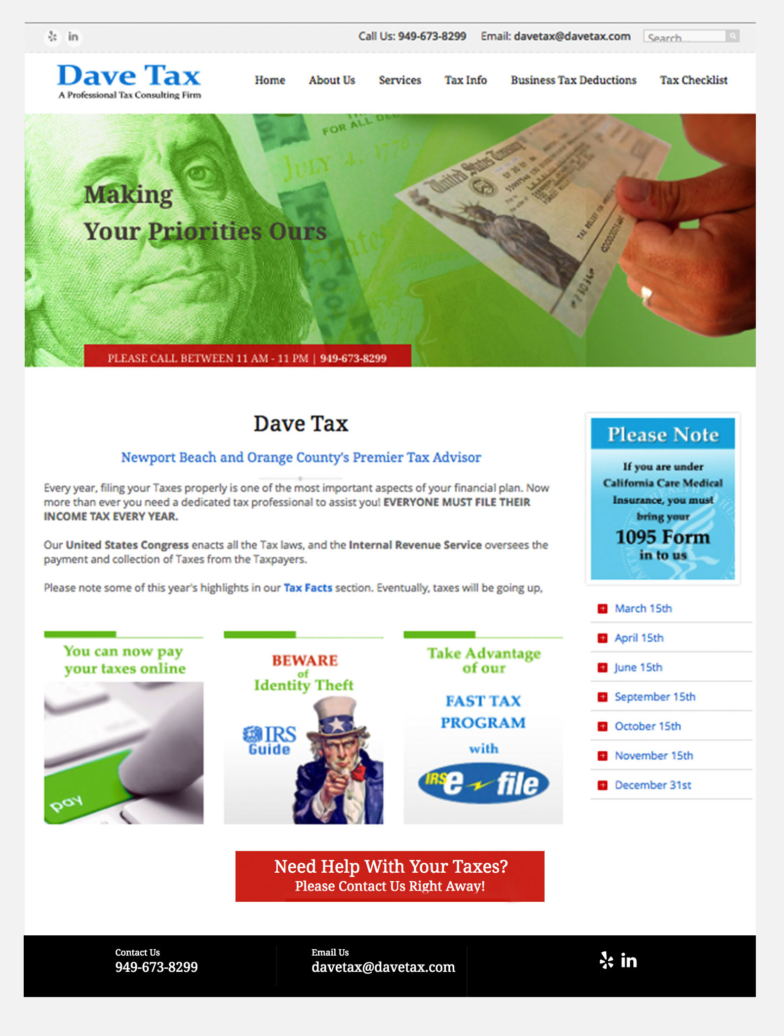 Dave Tax - Tax Services